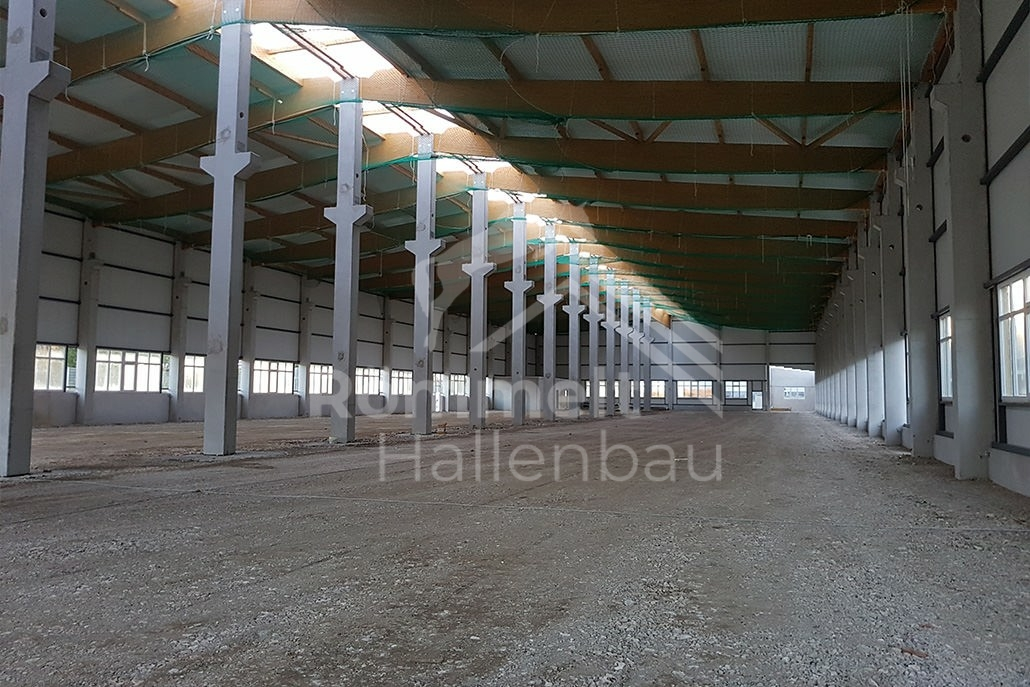 Römmelt Hallenbau Industriehalle